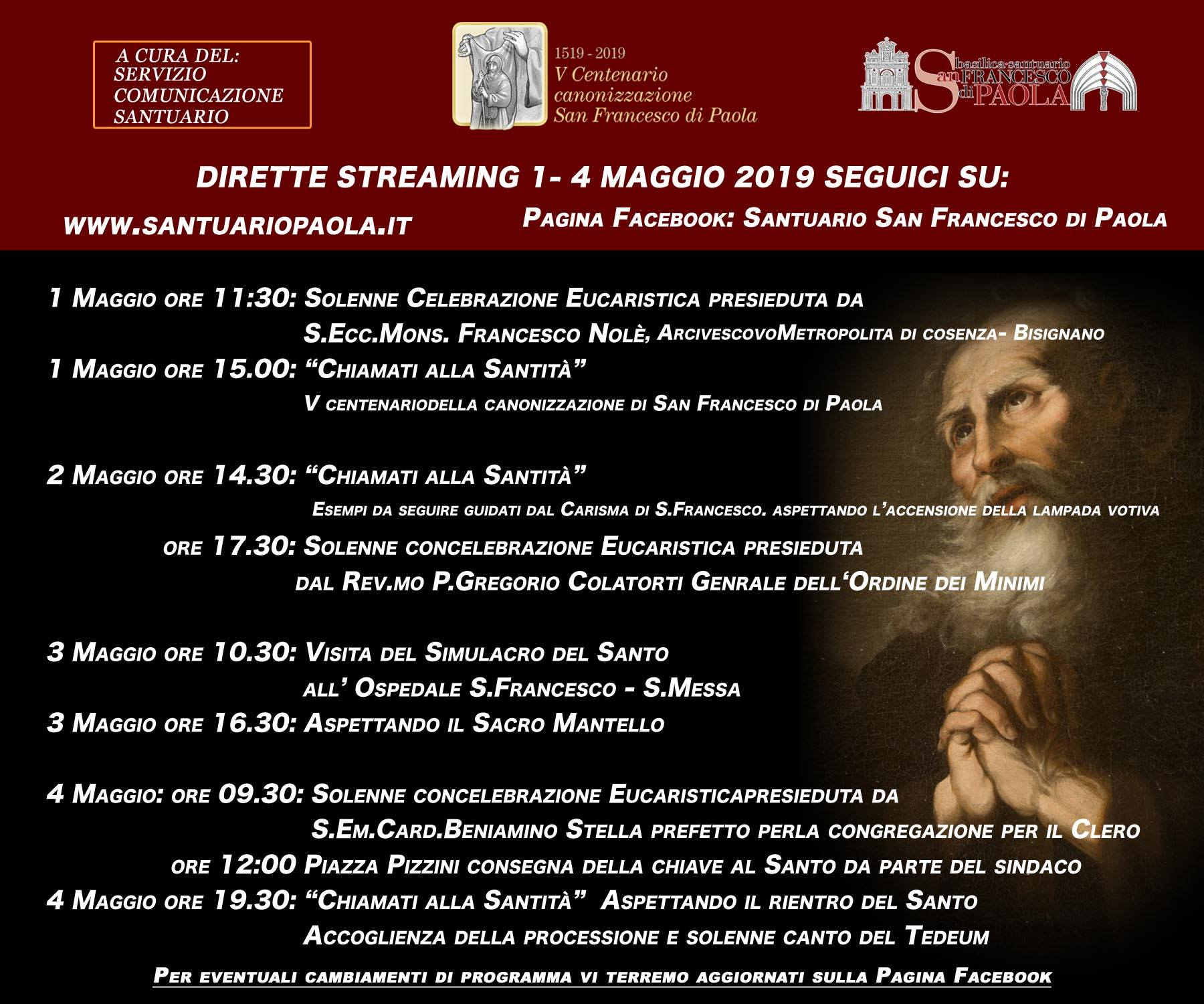 palinsesto streaming santuario